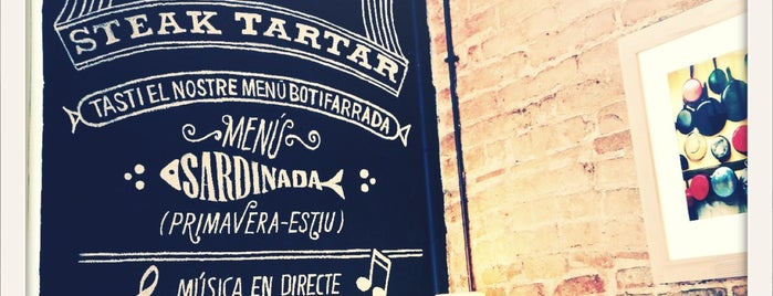 La Tertúlia is one of Barcelona Steak Tartar by @joando.