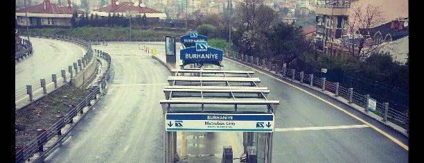 Burhaniye Mahallesi Metrobüs Durağı is one of Gokay.