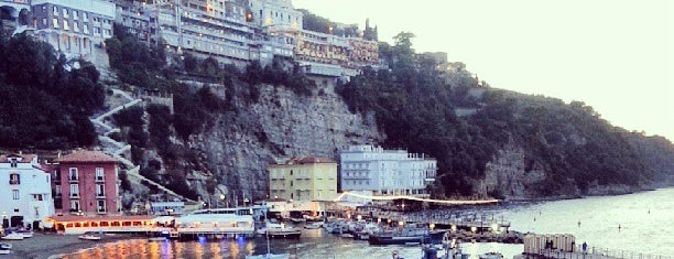 Marina Grande is one of AMALFI.