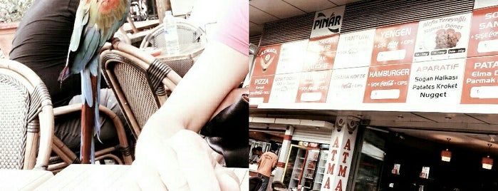 Atmaca Cafe Pizza& Fast Food is one of Tempat yang Disimpan Dans Müzik Ve Doğa.