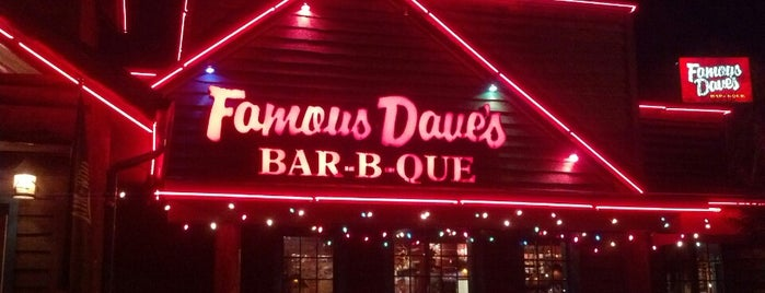 Famous Dave's is one of Restaurant To-do List.