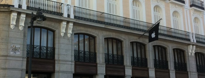 Apple Puerta del Sol is one of Madrid.