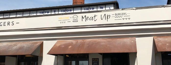 Meat Up Burgers is one of Бургеры в Питере.