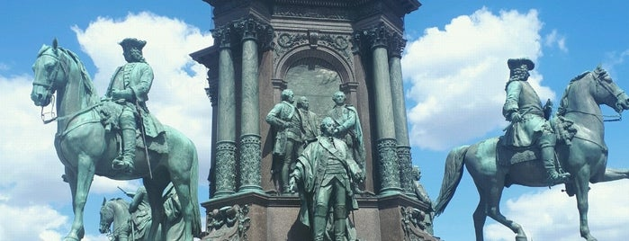Maria-Theresien-Denkmal is one of Вена.