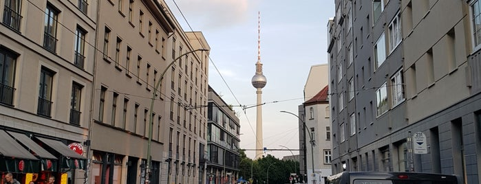 Mitte is one of Berlin.