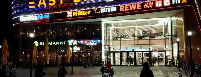 East Side Mall is one of สถานที่ที่ Dennis ถูกใจ.