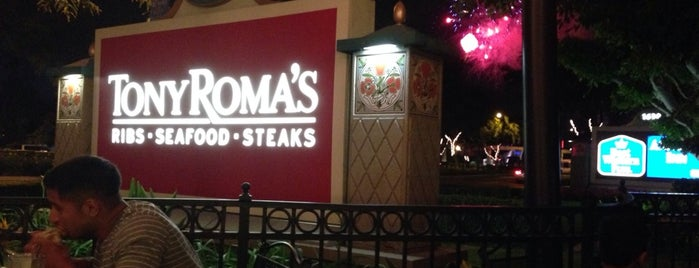 Tony Roma's is one of Stephanie 님이 좋아한 장소.
