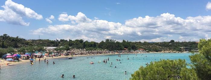 Lagonisi Beach is one of Halkidiki.
