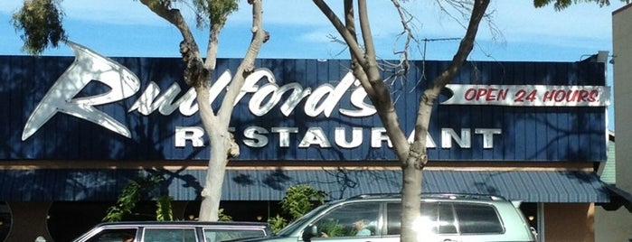 Rudford's Restaurant is one of San Diego.