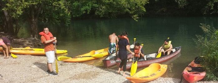 Zilker Park Kayak Rentals is one of Burket's Texas Visit.