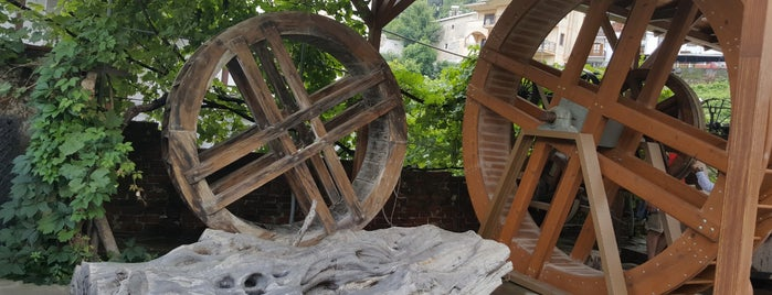 Sotirelis olive oil mills and museum is one of Locais curtidos por Rabiha Derya.