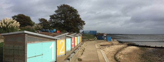 Shoebury East Beach is one of Southend.