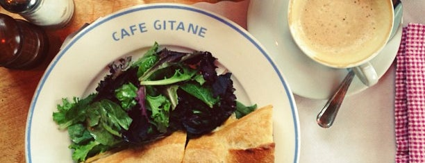 Cafe Gitane at The Jane Hotel is one of NY.