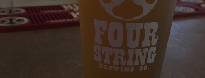 Four String Brewing is one of Breweries.