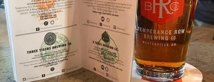 Temperance Row Brewing is one of Vincent: сохраненные места.