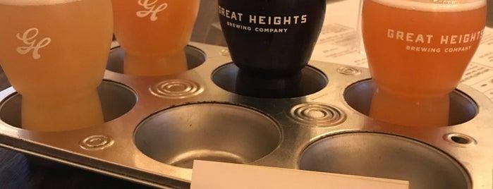 Great Heights Brewing Company is one of Posti che sono piaciuti a Chuck.