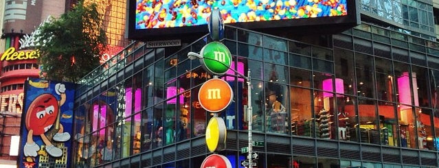 M&M's World is one of b.