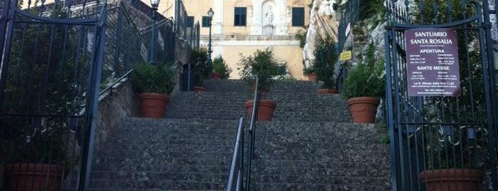 Santuario di Santa Rosalia is one of Scicily guide.