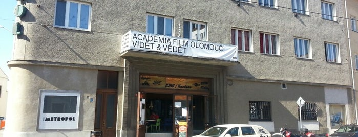Kino Metropol is one of Olomouc.