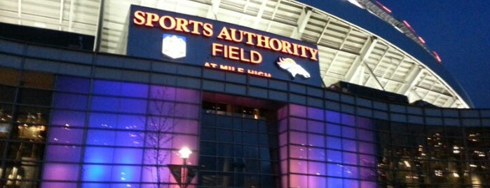 Empower Field at Mile High is one of Denver.