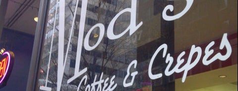 Mod's Coffee & Crepes is one of Tulsa Metro Area To Do.