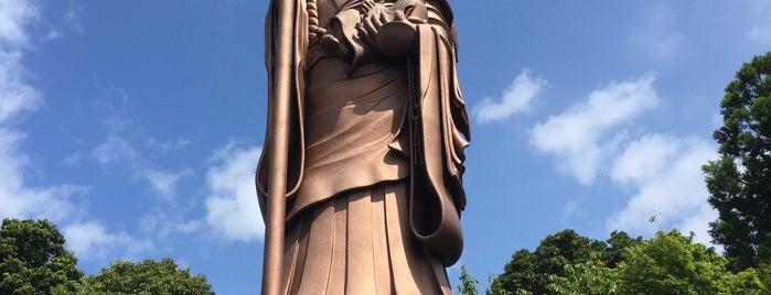 弘法大師像 is one of Lugares favoritos de Yutaka.