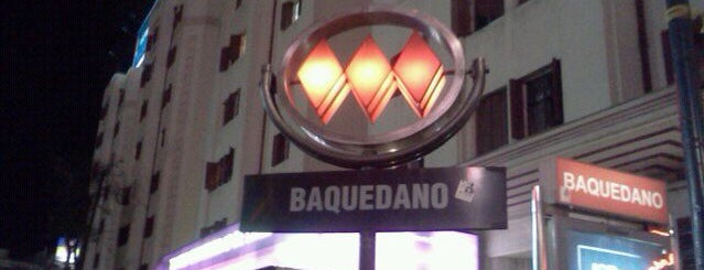 Metro Baquedano is one of Chile.