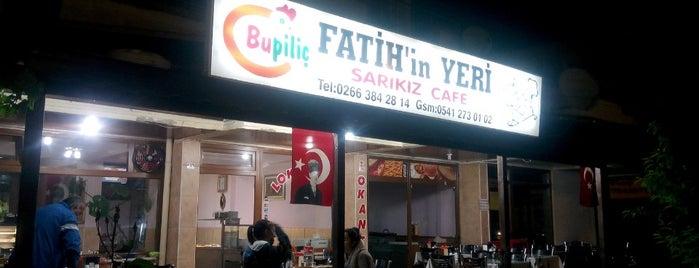 Fatih'in Yeri Sarıkız Cafe is one of Lugares favoritos de Duygu.