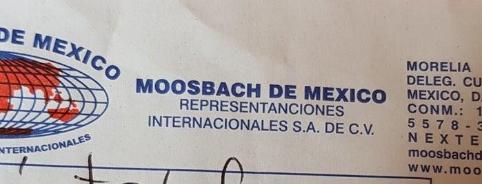Moosbach De Mexico is one of Lugares favoritos de Martha.