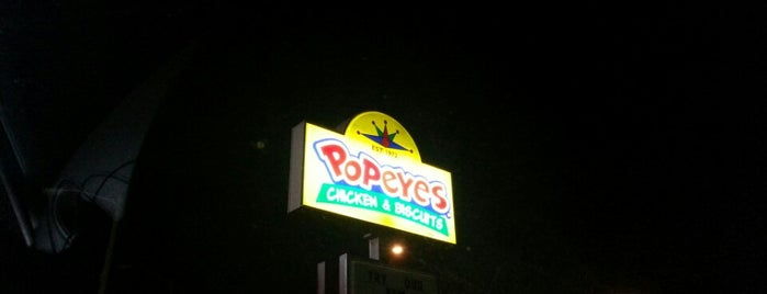Popeye's Chicken is one of Bob'un Beğendiği Mekanlar.