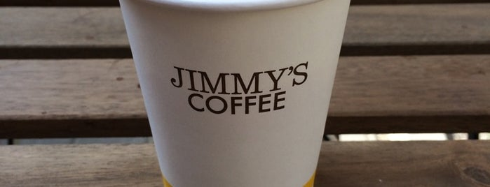 Jimmy's Coffee is one of Best coffee houses - Toronto.