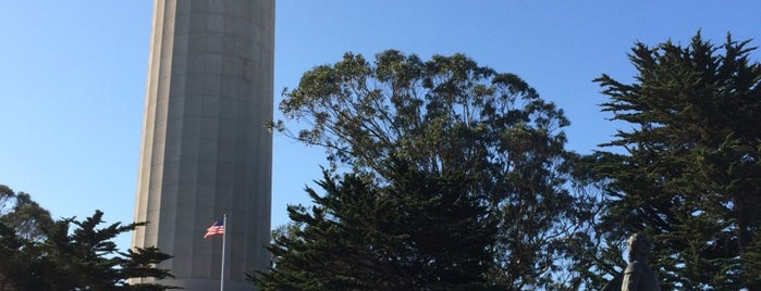 Coit Tower is one of My San Francisco.