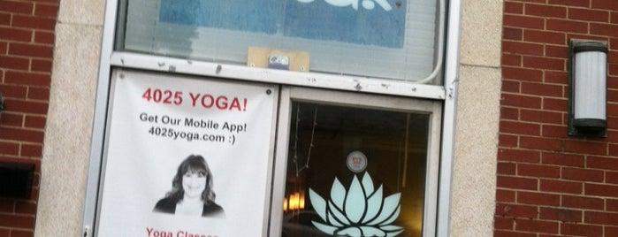 4025 Yoga & Wellness is one of RVA Yoga Studios.
