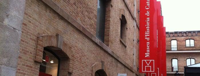 Museu d'Història de Catalunya is one of Barcelona Essentials.