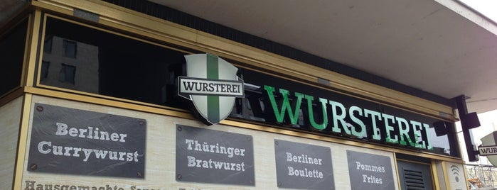 Wursterei is one of Orte zum Testen.
