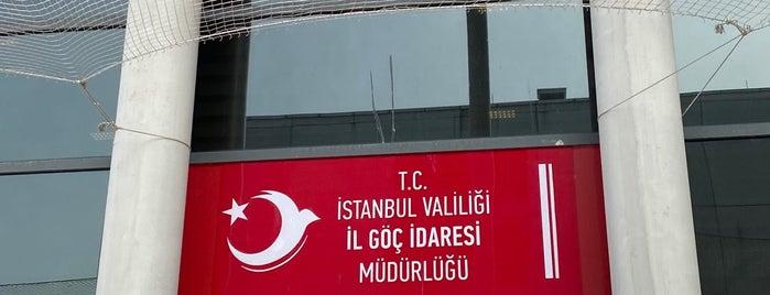 İstanbul İl Göç İdaresi Müdürlüğü is one of Samet'in Beğendiği Mekanlar.