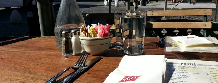 Pastis is one of Eat/drink outside & downtown(ish).