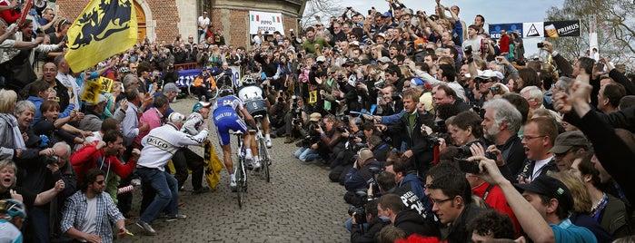 De Muur is one of Belgium / Events / Ronde van Vlaanderen 2019.
