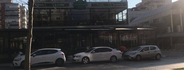 Antiochia Künefe is one of Tuğçe 님이 좋아한 장소.