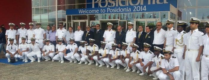 Posidonia 2014 is one of Panos: сохраненные места.