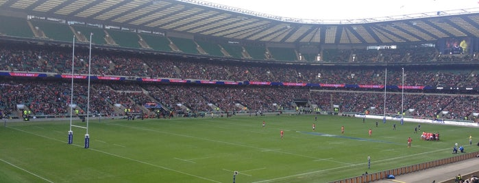Twickenham Stadium is one of 'Stadium Talk'....
