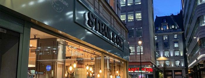 Steak & Co. is one of London 🇬🇧.