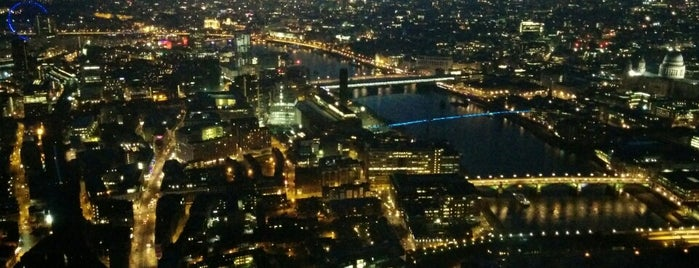 The View from The Shard is one of London's great locations - Peter's Fav's.