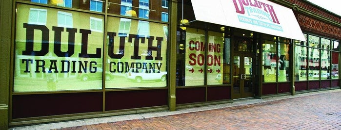 Duluth Trading Company is one of Up North.