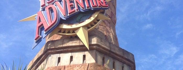 Islands of Adventure is one of Orlando, Florida.