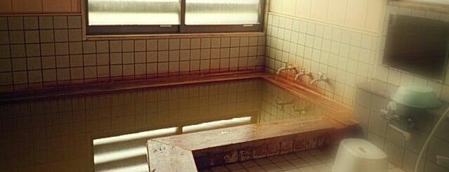 白馬龍神温泉 is one of 2 : понравившиеся места.