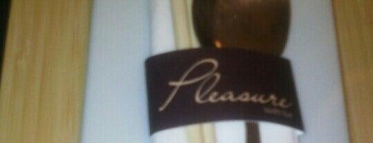Pleasure is one of Lieux sauvegardés par MENU.