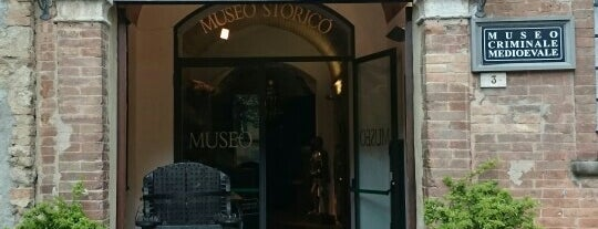 Museo Della Tortura is one of Lieux qui ont plu à Ico.