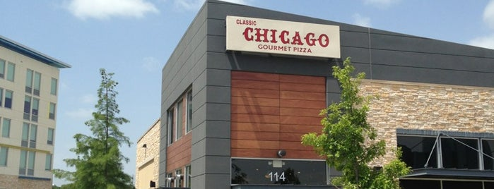 Classic Chicago's Gourmet Pizza is one of Dallas Restaurants List#1.