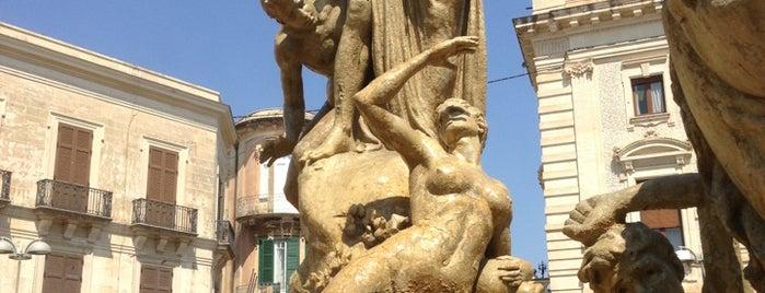 Fontana di Diana is one of Grand Tour de Sicilia.